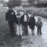 David, Gerald, Geraldine's son Julian, Talia, Sarah and youngest son Stephen