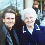 David with Gerald's mum Auntie Florry - taken in 1994
