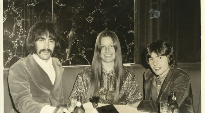 Taken in Vegas at The Sonny and Cher Show. (from L-R) Doug, Linda Haines Jones, Davy
